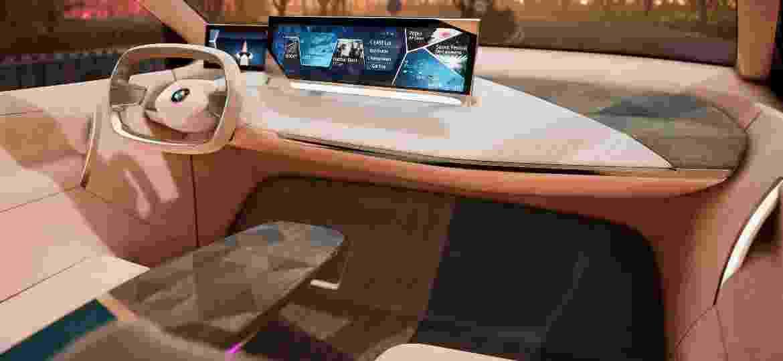 BMW iNext é exemplo de carro do futuro: conectado, autônomo e elétrico - Divulgação
