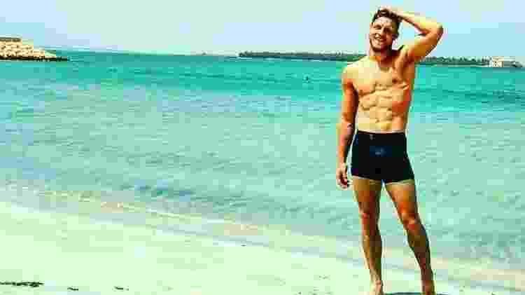 """Fábio Alano, do """"BBB19"""", tem somente 3% de gordura corporal - Reprodução/Instagram - Reprodução/Instagram"""