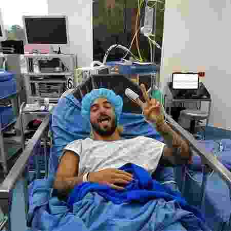 Cantor Maluma passa por cirurgia no joelho - Reprodução/Instagram