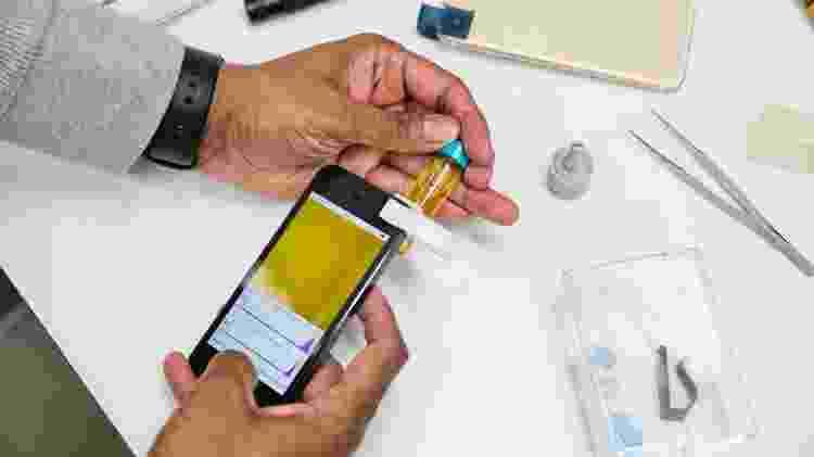 Sensores de câmera equipados com inteligência virtual darão ao celular a capacidade de identificar bactérias - Divulgação