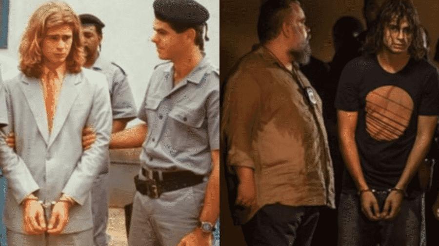"""Rafael Vitti mostra cena de """"Verão 90"""" e compara com outra de """"Despedida de Solteiro"""", novela que seu pai fez - Reprodução/Instagram"""