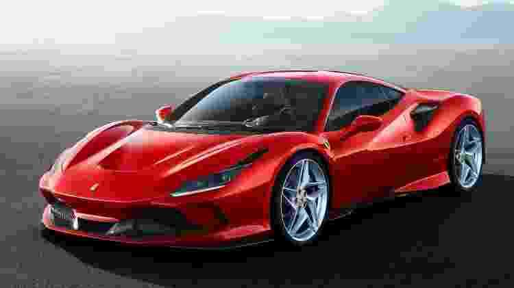Ferrari F8 Tributo - Divulgação - Divulgação