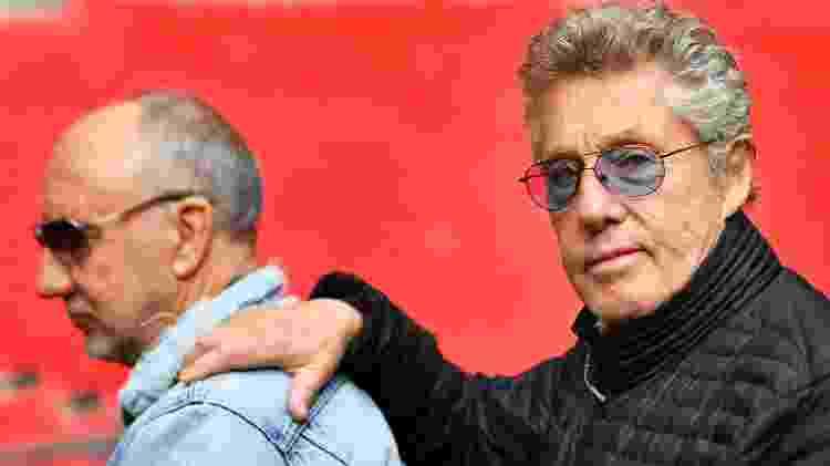 Pete Townshend, 73, e Roger Daltrey, 75: lendas do rock - Dylan Martinez/Reuters - Dylan Martinez/Reuters