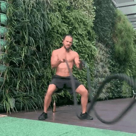 Duda Nagle mostra rotina de exercícios  - Reprodução/Instagram