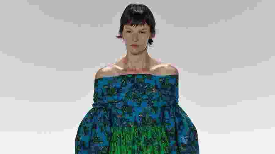 Desfile da coleção de Givenchy na Semana de Moda de Paris - Xinhua/Piero Biasion