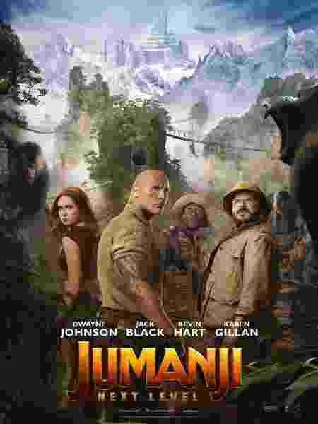 Novo cartaz de Jumanji: Próxima Fase - Divulgação/Sony