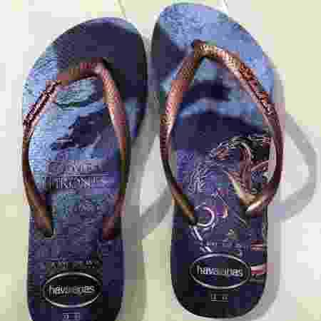 Sandália feminina de GoT da Havaianas por R$ 45,99 - Felipe Pinheiro/UOL