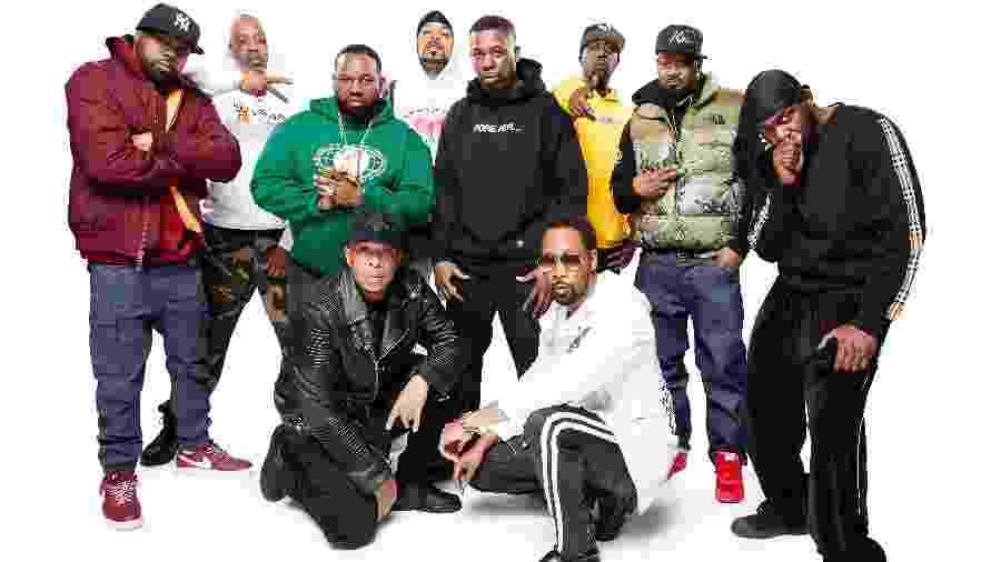 O grupo de rap Wu-Tang Clan - Kyle Christy
