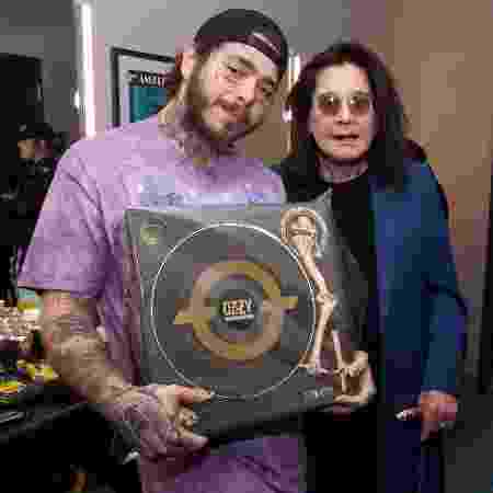 Ozzy Osbourne e Post Malone - Getty Images