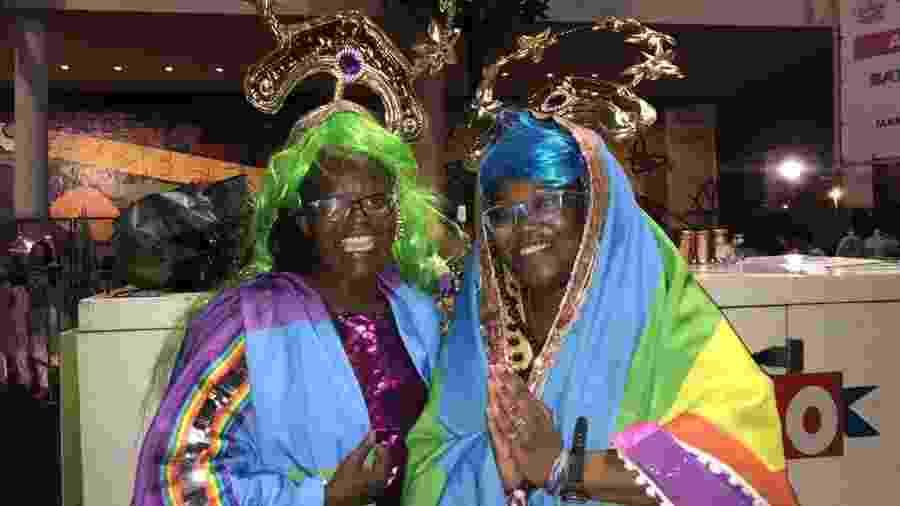 As americanas Kadye e Khadija Williams - Lola Ferreira/ UOL