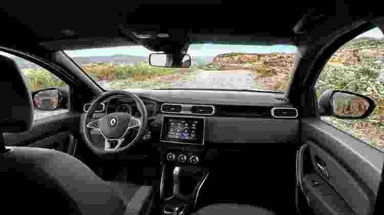 Novo Renault Duster (interior) - Divulgação - Divulgação