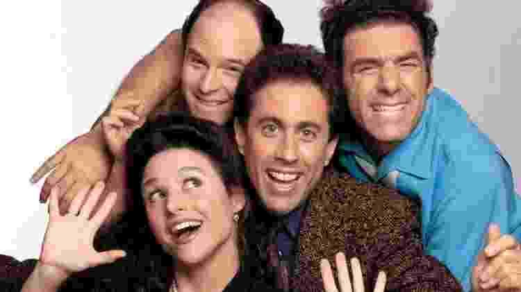Elenco de Seinfeld - Divulgação - Divulgação