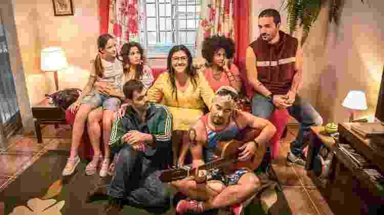 lurdes e família - João Cotta/Rede Globo - João Cotta/Rede Globo