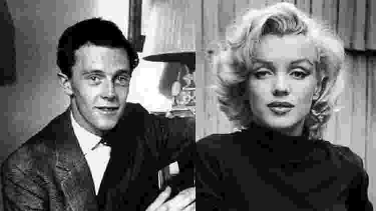 Colin Clark e Marilyn Monroe - Reprodução - Reprodução