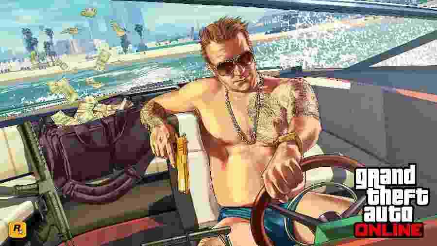 Abordando temas sensíveis e polêmicos, a série GTA é uma das mais rentáveis dos games - Divulgação