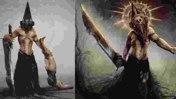 Arte Odd Jorge Pyramid Head Silent Hill - Arte/Odd Jorge - Arte/Odd Jorge