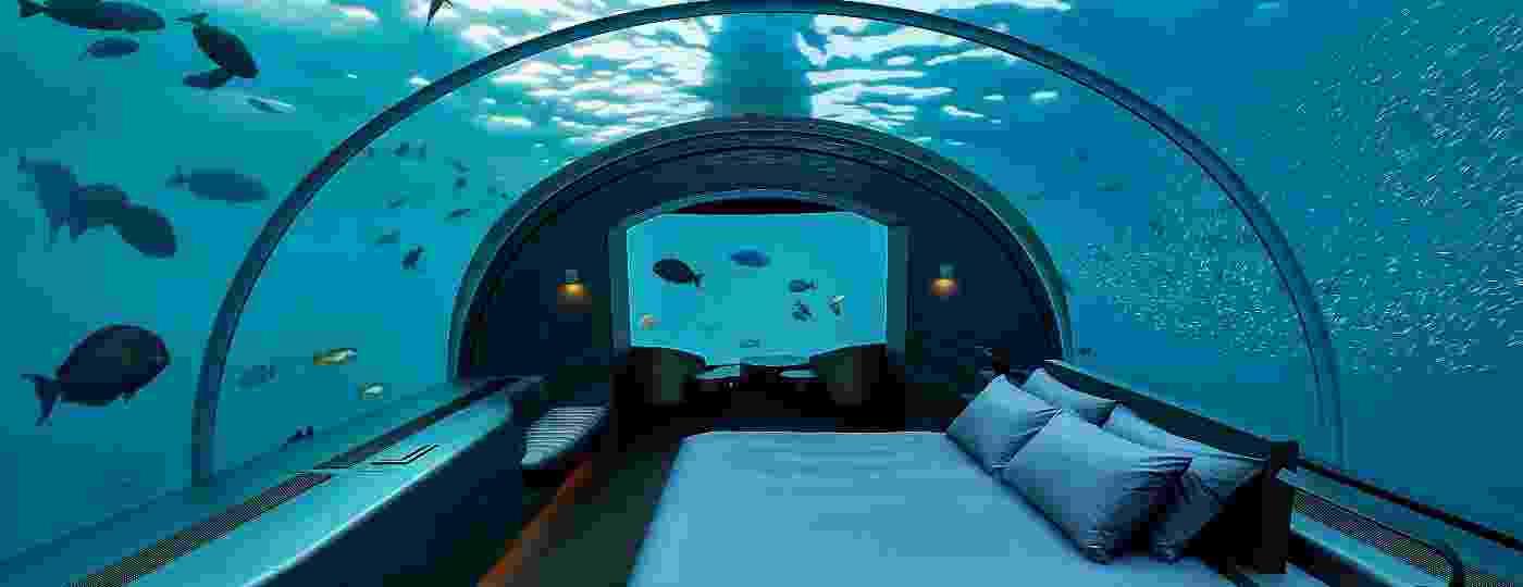 Rangali Island, nas Maldivas: um dos quartos submersos mais fascinantes do mundo - Justin Nicholas