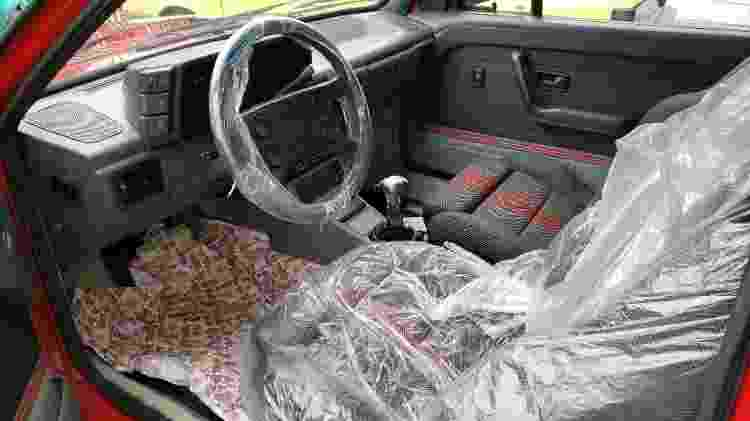 By Deni Studio VW Gol GTI interior - Arquivo pessoal - Arquivo pessoal