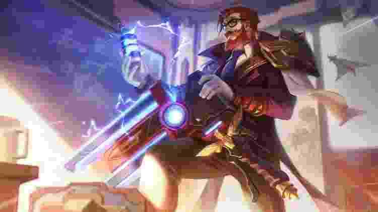 League of Legends Graves - Divulgação/Riot Games - Divulgação/Riot Games