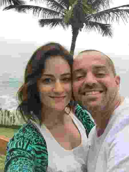 Renata Gianetti, 35 anos, e Thiago Moura, 41, de São Paulo,  - arquivo pessoal - arquivo pessoal