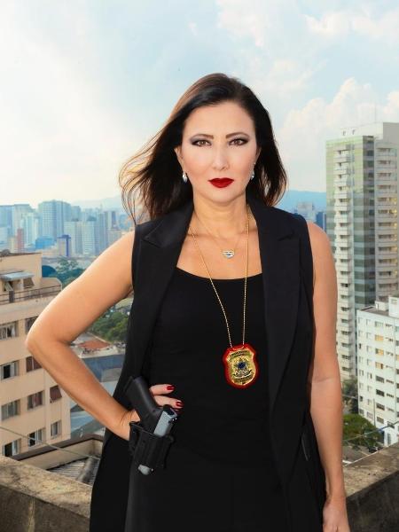 A delegada Raquel Kobashi é presidente do Sindicato dos Delegados de Polícia do Estado de São Paulo - Thati Abreu/Divulgação