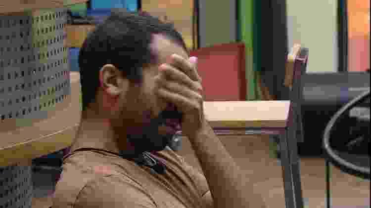 BBB 21: Gilberto se emociona lembrando de sua passagem pelo reality - Reprodução/Globoplay - Reprodução/Globoplay