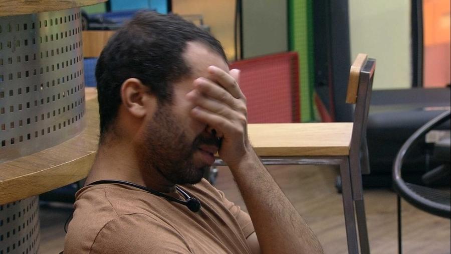 BBB 21: Gil se emociona lembrando de sua passagem pelo reality - Reprodução/Globoplay
