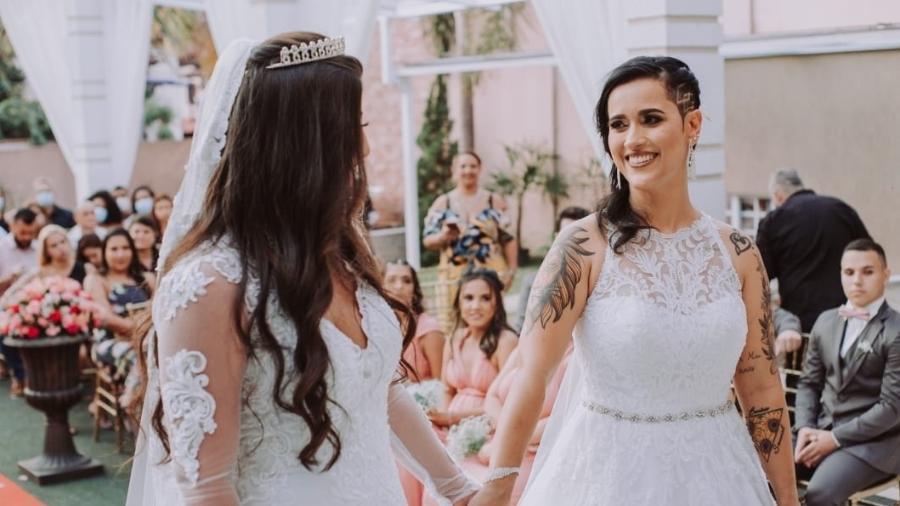 Lorrany Figueiredo e Fernanda Mesquita - Arquivo pessoal/Su Florentino
