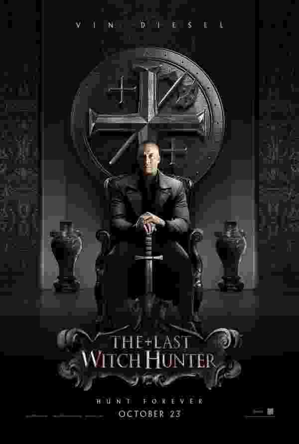 """Pôster do filme """"O Último Caçador de Bruxas"""", com Vin Diesel, é divulgado na San Diego Comic-Con 2015 - Divulgação"""