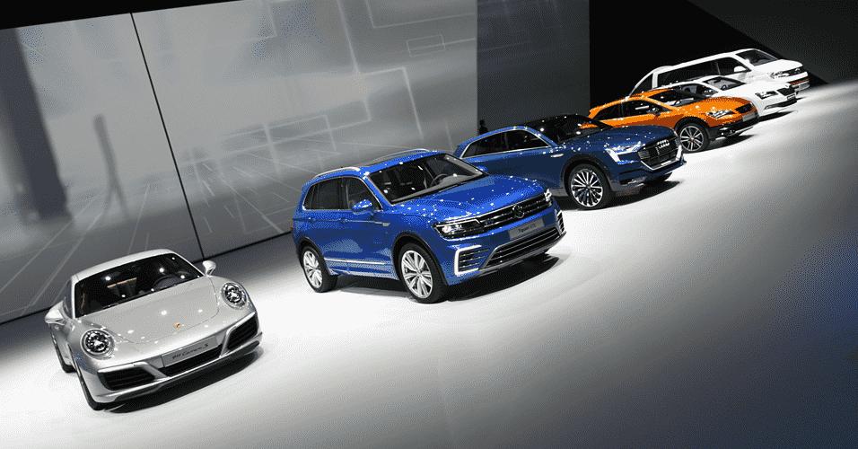 Grupo Volkswagen no Salão de Frankfurt 2015 - Murilo Góes/UOL