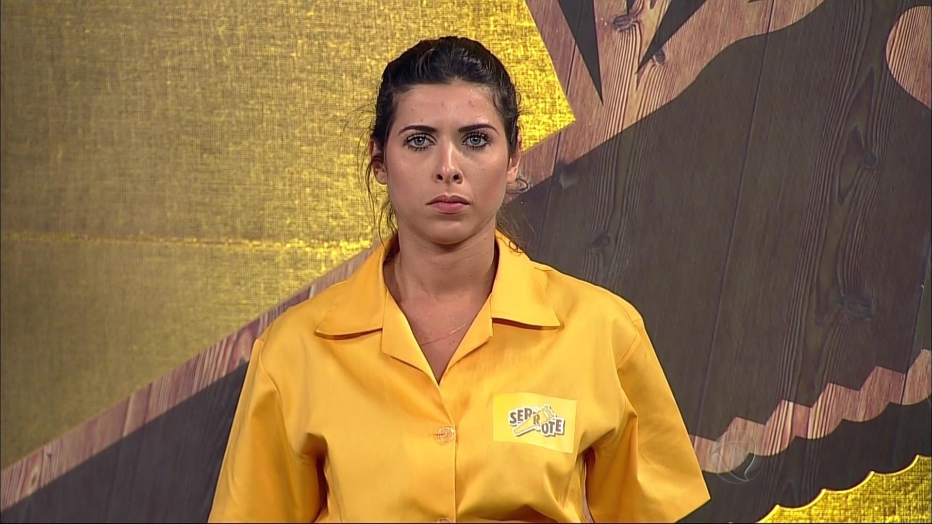 5.nov.2015 - Ana Paula Minerato participou da prova da chave em nome da equipe Serrote