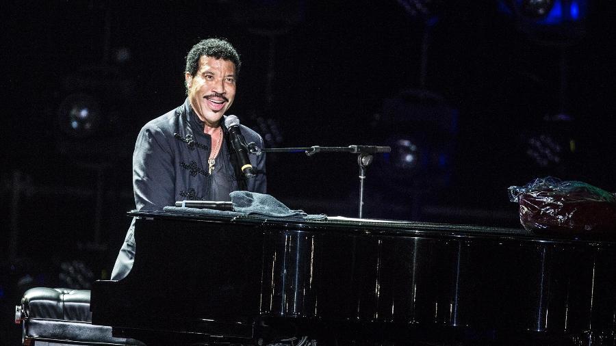 Lionel Richie em turnê no Brasil - Lucas Lima /UOL