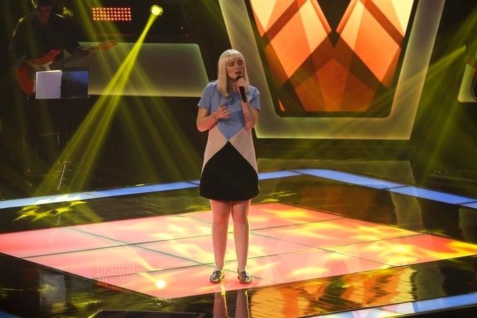 Gabriela Ferreira cantou
