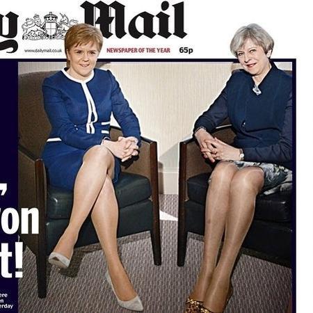 Daily Mail é acusado de machismo após capa - Reprodução/Daily Mail