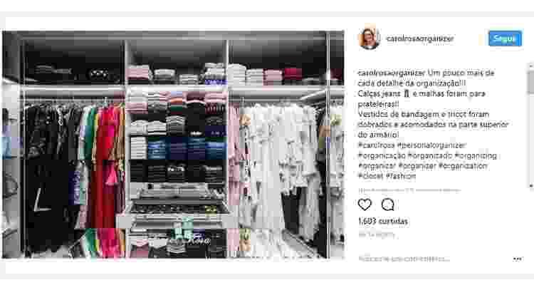 Post de Carol Rosa - Reprodução/Instagram - Reprodução/Instagram
