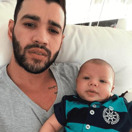 Gusttavo Lima e o filho, Gabriel - Reprodução/Instagram/gusttavolima