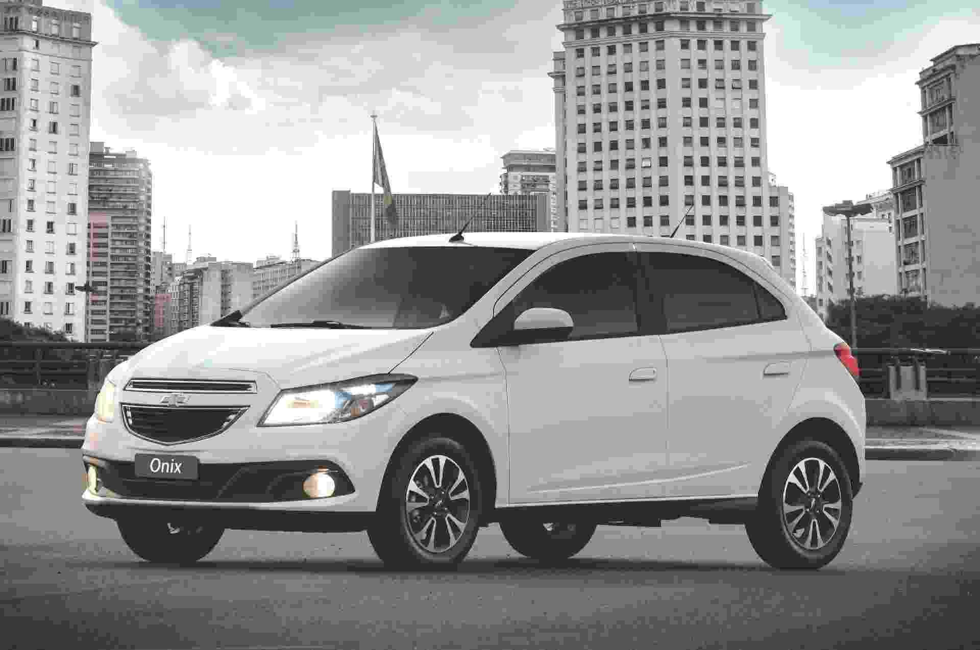 Chevrolet Onix 2012-2013 - Divulgação