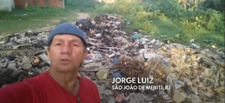 """""""Revoltados"""" descumprem pedido de Globo em campanha """"Que Brasil você quer para o futuro?"""" - Reprodução/TV Globo"""