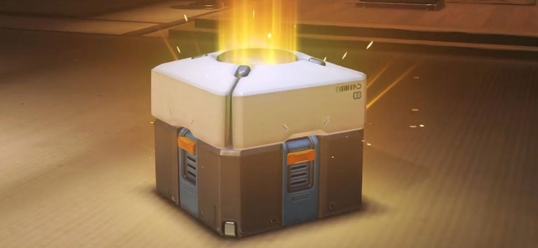 Loot box em Overwatch - Reprodução