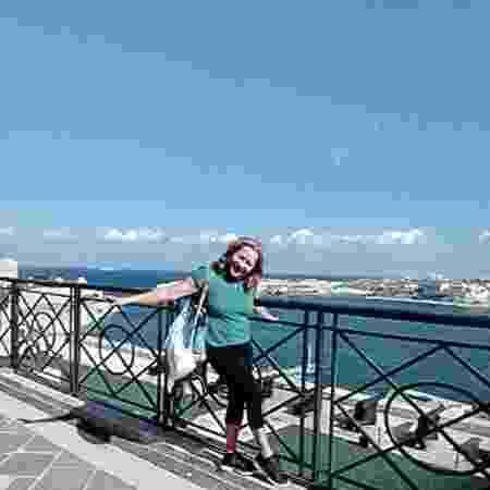 Raimara Pires, 61, em Malta - Arquivo pessoal