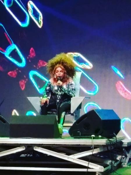 Elza Soares faz show na Virada Cultural - Reprodução/Instagram/edufreehuman