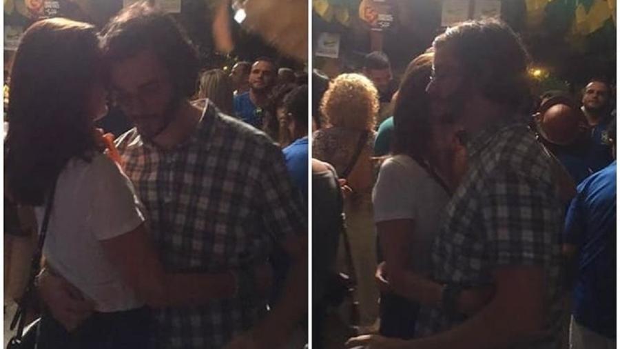 Fátima Bernardes e Túlio Gadêlha dançam forró em festa junina no Nordeste - Reprodução/Instagram
