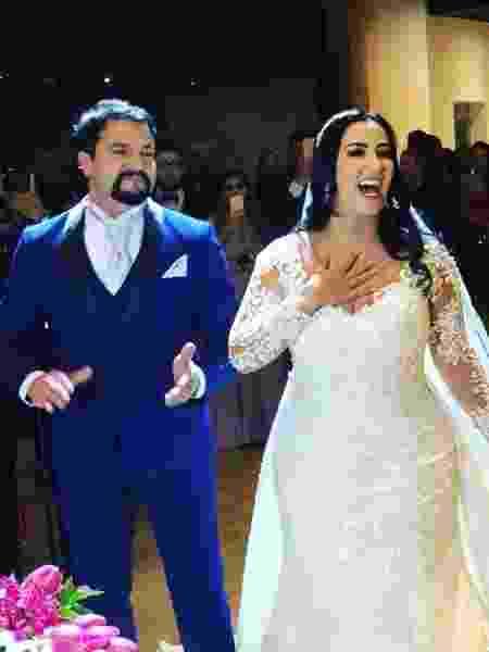 Fabíola Gadelha se casa com dentista em São Paulo - Reprodução/Instagram