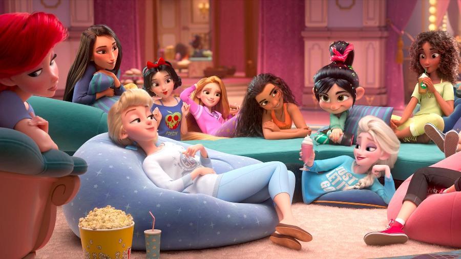 """Princesas com visual mais """"gente como a gente"""" - Divulgação/Disney"""