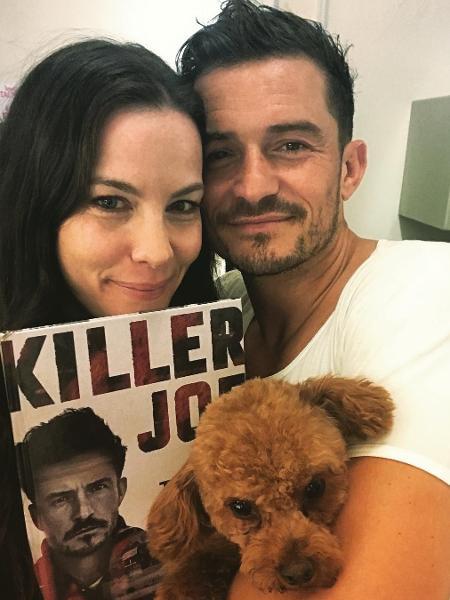 """Liv Tyler e Orlando Bloom, que foram colegas em """"Senhor dos Anéis"""" - Reprodução/Instagram"""