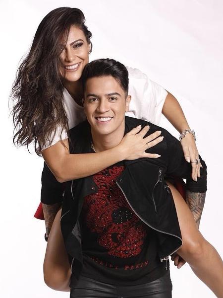 """Diana Oliveira, assistente de palco do """"Domingo Legal"""", é noiva do cantor sertanejo Jefferson Moraes - Reprodução/Instagram/jeffmoraes"""
