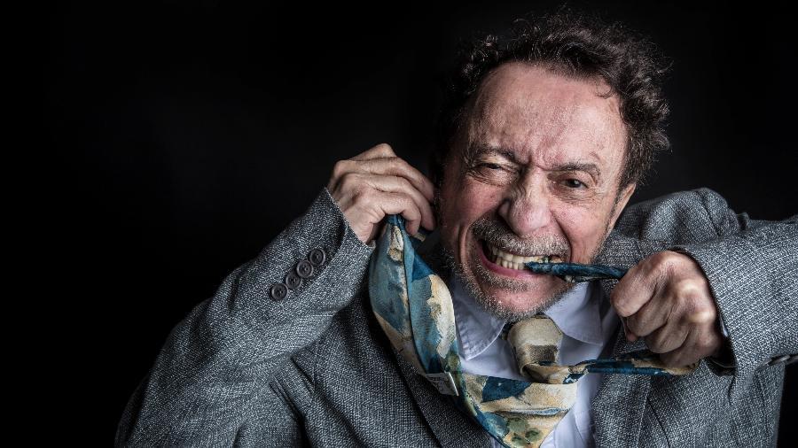Tom Zé encerra o dia de lives às 21h30 no site do Festival Cultura em Casa - Lucas Lima/UOL