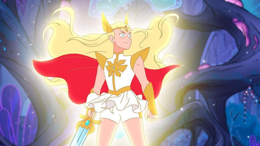 """A nova versão da She-Ra que aparecerá em """"She-Ra e as Princesas do Poder"""" - Divulgação"""
