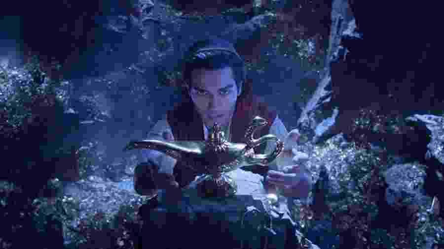 Mena Massoud é o Aladdin no live-action da clássica animação da Disney - Reprodução/Disney