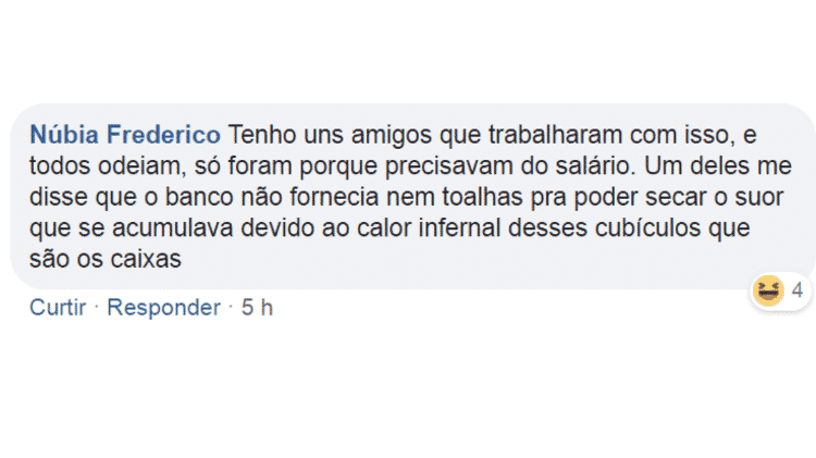 Comentário - Reprodução/Facebook - Reprodução/Facebook